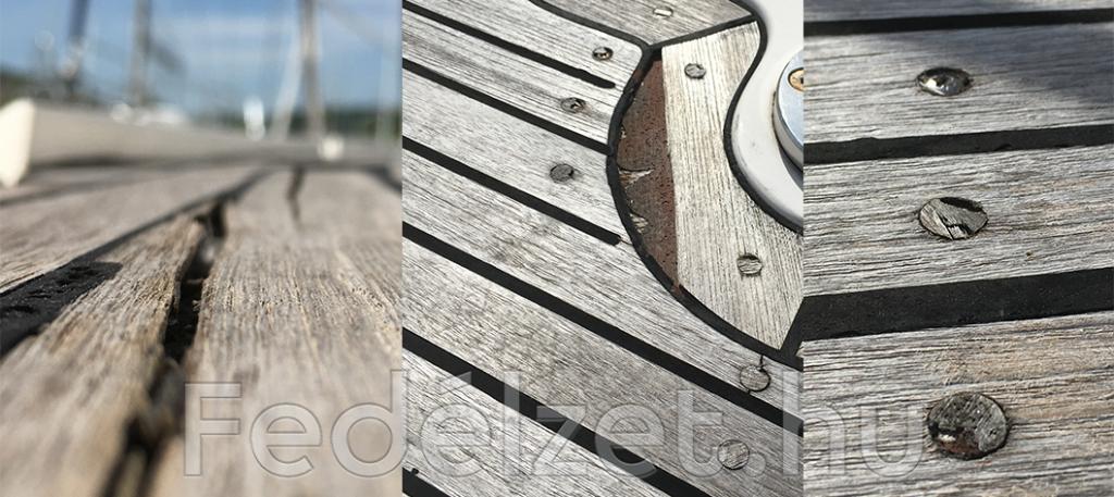 teakfa fedélzetet ne moss magasnyomású mosóval